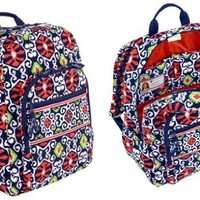 Vera Bradley Campus Backpack in Sun Valley