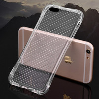 Best Protection Transparent UNBreak Case for iPhone 7 7Plus & iPhone se 5s 6 6 Plus Best Protection Cover +Gift Box-102
