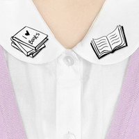 Where to Wear It collar clips - Library