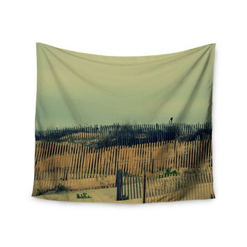 "Robin Dickinson ""Carova Dunes"" Beach Wall Tapestry"