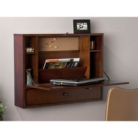 Holly & Martin™ Holden Wall - Mount Laptop Desk