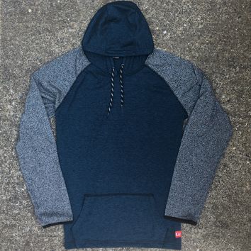 Vernon Hoodie Dark Blue Heather (SM)