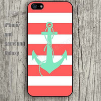 Anchor lighting colorful iphone 6 6 plus iPhone 5 5S 5C case Samsung S3,S4,S5 case Ipod Silicone plastic Phone cover Waterproof