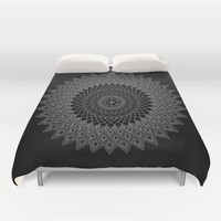 Mandala no 5 - inverted Duvet Cover by Hedehede