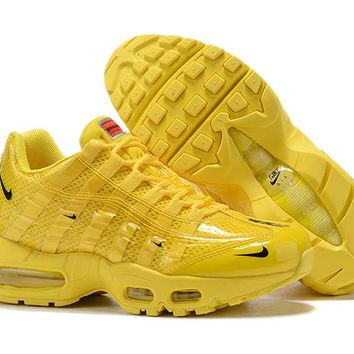 Nike Air Max 95 Women Fashion Running Sneakers Sport Shoes Yellow Size 36-40
