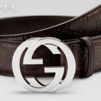 MENS WOENT BELT REAL LEATER FREE GUCCI BELT