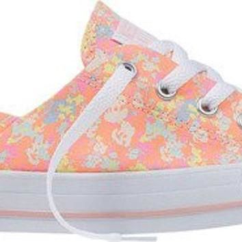 converse womens chuck taylor all star coral ox sneaker vapor pink sunset glow porpoise