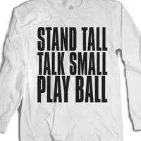 Street Rhymes Stand Tall Play Ball T-Shirt |