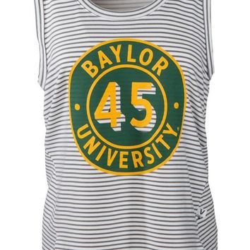 Official NCAA Baylor University Bears Judge Joy Women's Stripe Tank Top