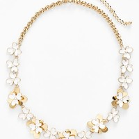 Women's kate spade new york 'pansy blossoms' collar necklace