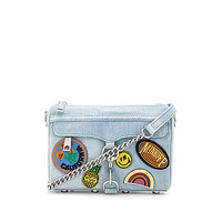 Rebecca Minkoff Mini Mac Bag in Light Denim