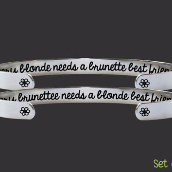 Bridesmaid Gifts | Friend Gift | Friend Gift | Best Friend Gift | Freindship Bracelets | Personalized Gift | Korena Loves