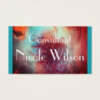 Consultant - Abstract Contemporary Modern Chic Business Card