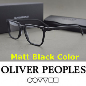No burden eyeglasses frames Brand Oliver Peoples NDG-1-P Square Vintage Myopia Glasses Frame Men Women Retro Eyeglasses Frames