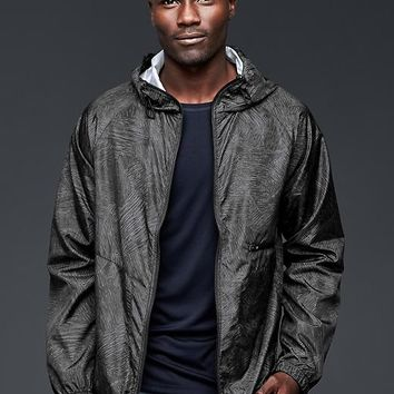 Gap Men Urban Active Printed Nylon Jacket