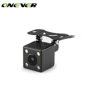Car Rearview camera plug LED HD night vision camera 120 degrees mini night vision rear view reversing camera