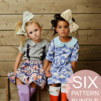 SIX Pattern Bundle | Downloadable Sewing Patterns