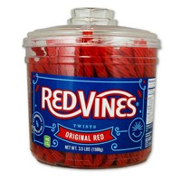 Red Vines Original Red Licorice Twists (3.5 Lb Jar) - Walmart.com