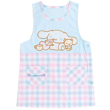 Buy Sanrio Original Cinnamoroll Check Style Apron Dress with Pockets at ARTBOX