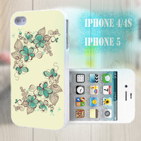 unique iphone case, i phone 4 4s 5 case,cool cute iphone4 iphone4s 5 case,stylish plastic rubber cases cover, yellow elegant floral bp2804