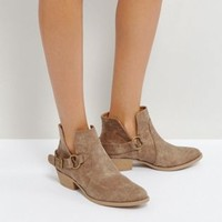 Qupid Western Trim Boot at asos.com