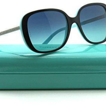 Tiffany & Co. Tf 4137b Women Square Sunglasses Azure Blue Gradient 80559s
