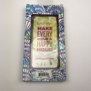 New Lilly Pulitzer Oh Shello Iphone 7 Case Preppy Shell Purple Blue NWT Tech