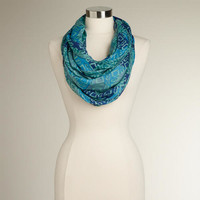 Shades of Blue Infinity Scarf | World Market