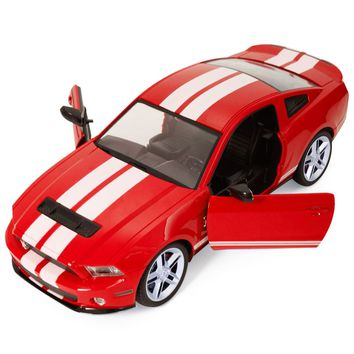 1/14 Ford Mustang Shelby GT500 Radio Remote Control RC Model Car Red New