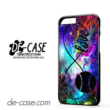 Infinity Love Softball Sports DEAL-5609 Apple Phonecase Cover For Iphone 6 / 6S