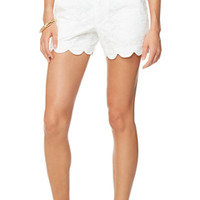 Buttercup Scallop Hem Short - Lilly Pulitzer