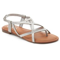 Candie's Women's Strappy Thong Sandals