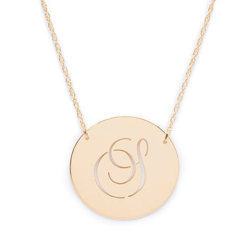 Beso Disc Necklace