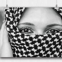 In the eyes of a Muslim Girl  Poster