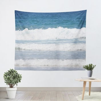 Rolling Waves 1 Tapestry