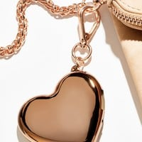 Free People Heart Charger Keychain