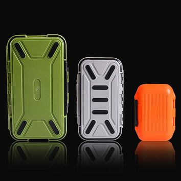 WALK FISH New Design Fishing Tackle Boxes Double Layer 30 Compartments Lure Fishing Box S/M/L Fly Fishing Tackle Boxes