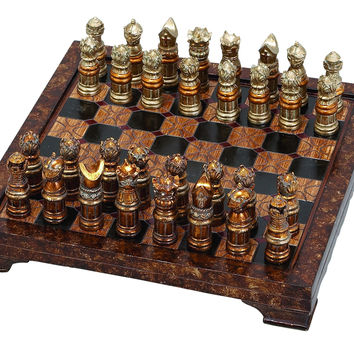 Polystone Chess Set S/33 To Impress With Hosting Style