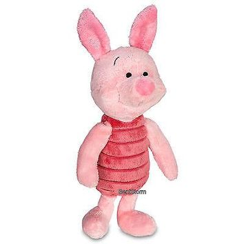 """Licensed cool NEW Disney Store 11"""" Piglet Piggy Plush Pig Winnie-the-Pooh Friend for Christmas"""