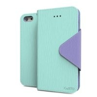 [ iPhone 5C Case] Cellto iPhone 5C Case Wallet Flip Type with HD Screen Protector [Slim Fit] [ Mint ] Diary Cover /w ID Slot Top Quality with Premium PU Leather and TPU Dual Layer - EPI Style