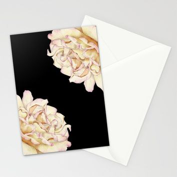 Roses - Lights the Dark Stationery Cards by drawingsbylam