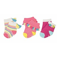 MUD PIE SUMMER FUN SOCK SET