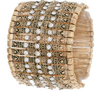 Wild Ride Boho Cuff in Gold