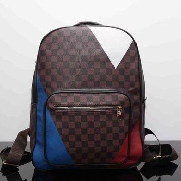 DCC3W Louis Vuitton Fashion Backpack Bookbag Travel Bag Shoulder Bag-2