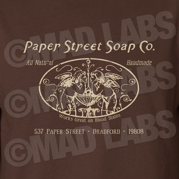 Paper Street Soap Co. Company swag T-shirt tee Shirt Movie TV show inspired Hot Funny Mens Ladies cool MLG-1125