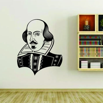 Shakespeare Vinyl Wall Decal Sticker Car Window Truck Decals Stickers