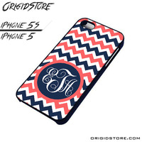 Chevron Personilzed Type Your Name Case For Iphone 5/5S Case