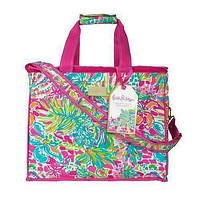 Insulated Cooler in Spot Ya by Lilly Pulitzer