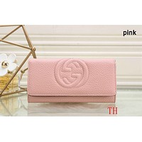 GUCCI 2018 counter models women's exquisite fashionable clutch F-OM-NBPF Pink