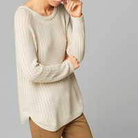 CABLE-KNIT CAPE SWEATER - View all - Sweaters & Cardigans - WOMEN - United States of America / Estados Unidos de América